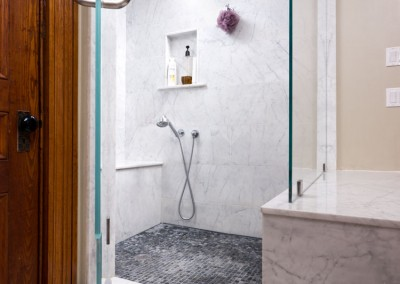 Marble Finish Shower