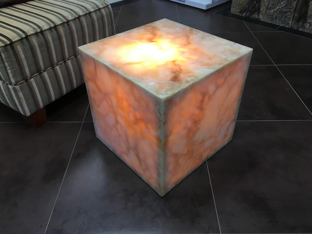 honey onyx coffee table