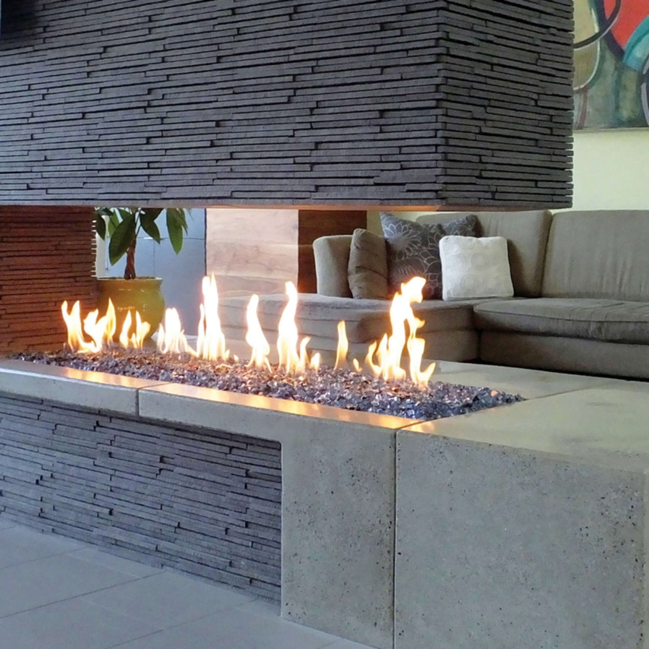 fireplaces stone inc