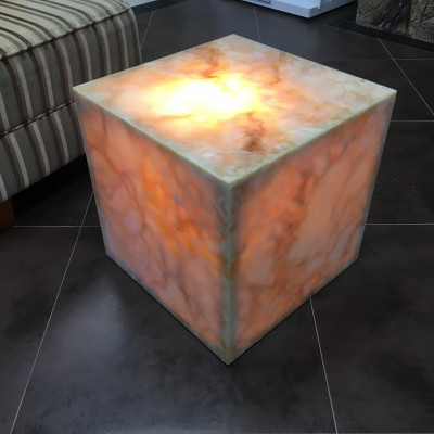 Honey Onyx Coffee Table